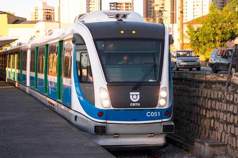 Resultado de imagem para Trens Urbanos de Natal param no Feriado Nossa Senhora da Apresentação