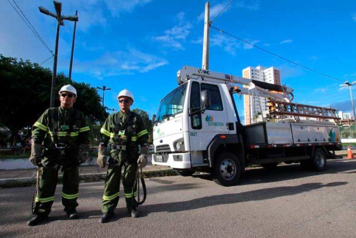 Cosern abre seleção para curso gratuito de eletricista de rede de distribuição em Natal e no interior — Foto: Canindé Soares/Cosern/Divulgação