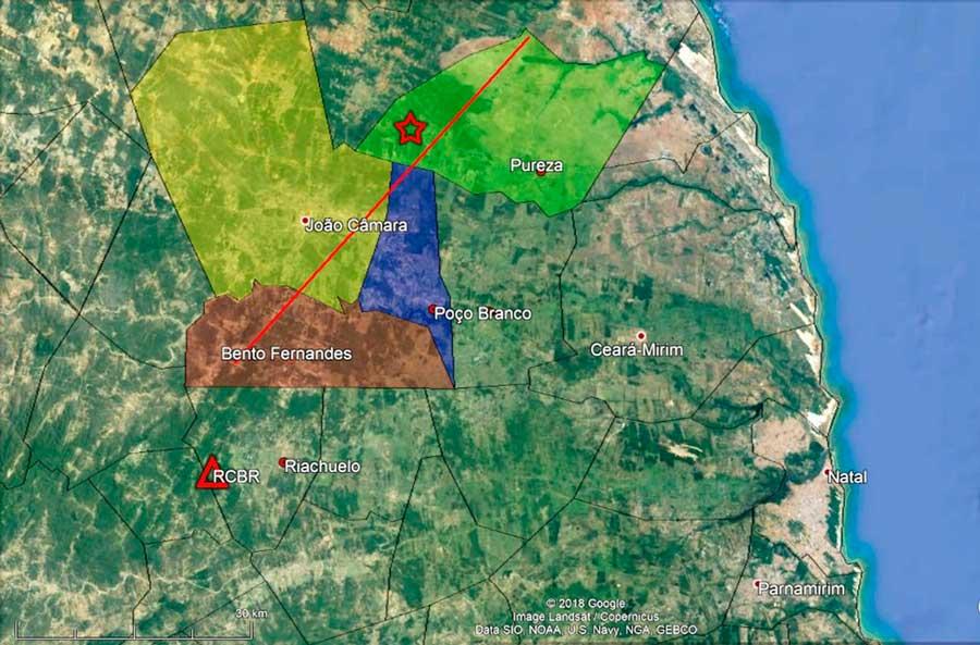 Resultado de imagem para 5 tremores de terra são registrados em João Câmara-RN, nesse domingo (15).