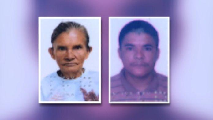 Mãe e filho foram mortos em Ceará-Mirim — Foto: Inter TV Cabugi/Reprodução