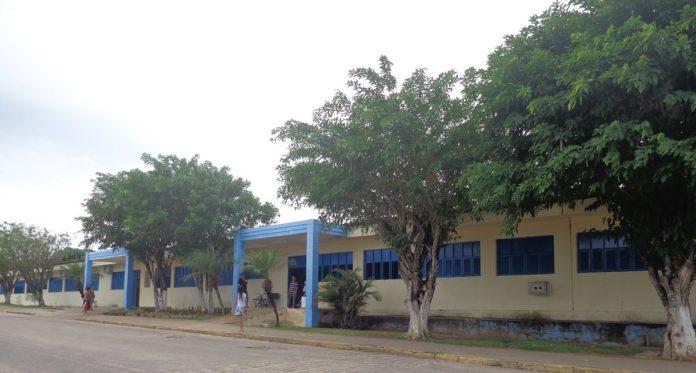 Hospital Municipal Percílio Alves de Oliveira, em Ceará-Mirim